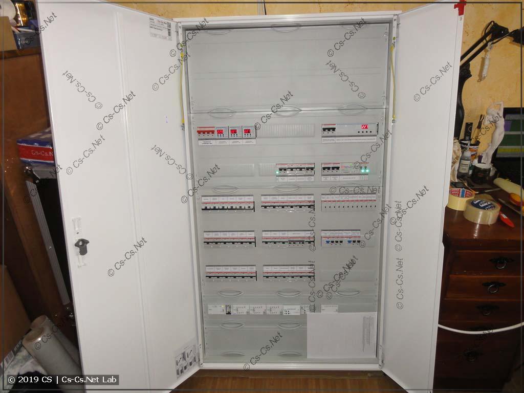 Щит с автоматикой KNX (отопление, вентиляция) на Пречистенку