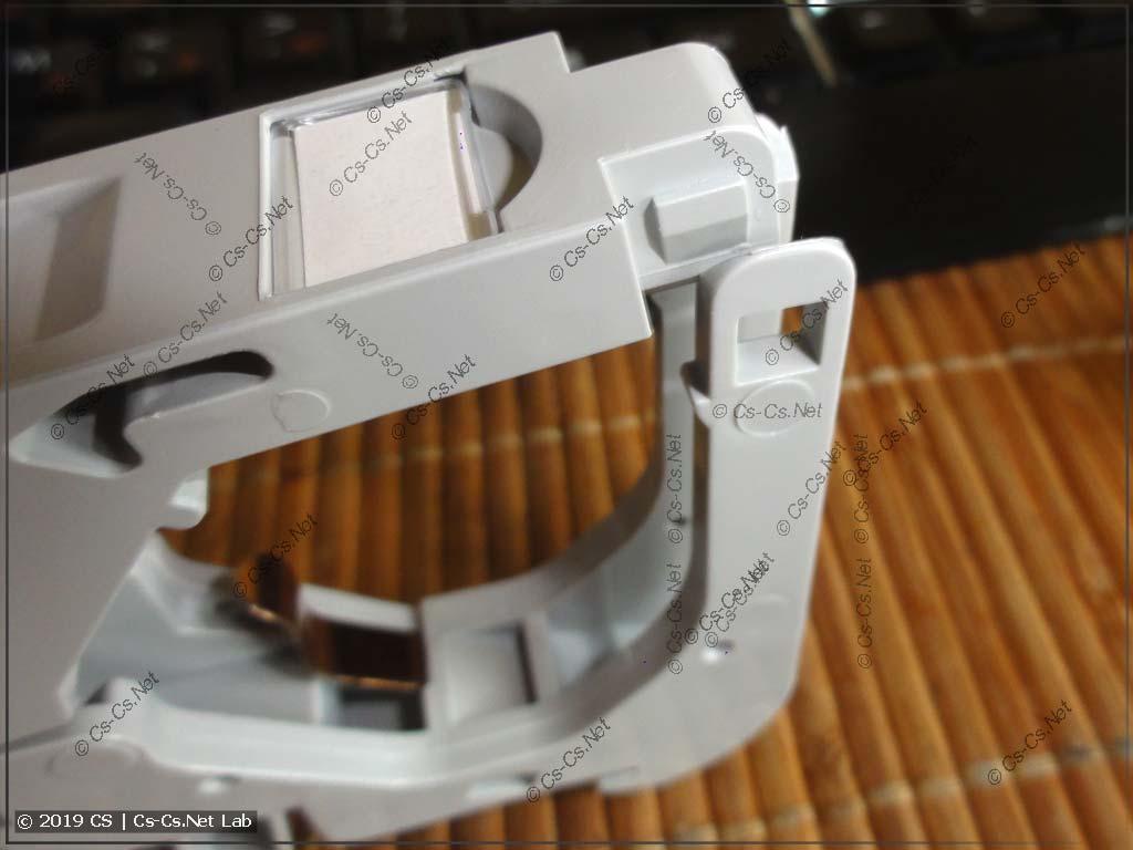 Конструкция крепления для KeyStone FP-IE-DIN-KJ-1-GY