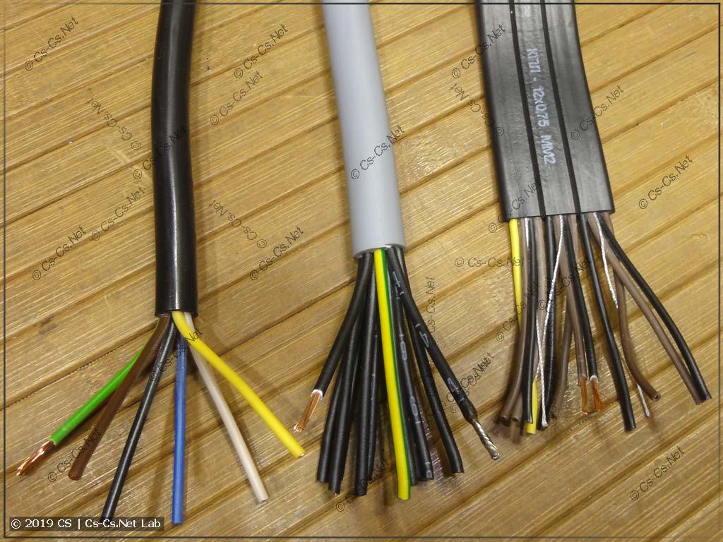 Гибкие силовые кабели КГВВ, LAPP OlFlex и КПЛ (лифтовой шлейф)