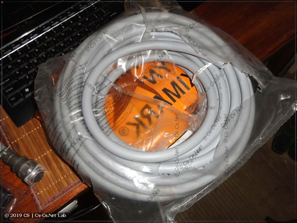 Бухта кабеля LAPP с завода (из России)