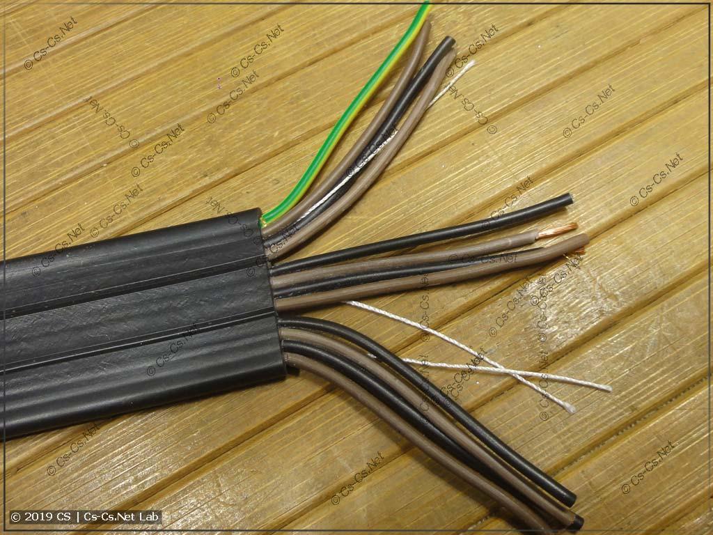Прикольный кабель КПЛ для шлейфов кабины лифтов (жилы)