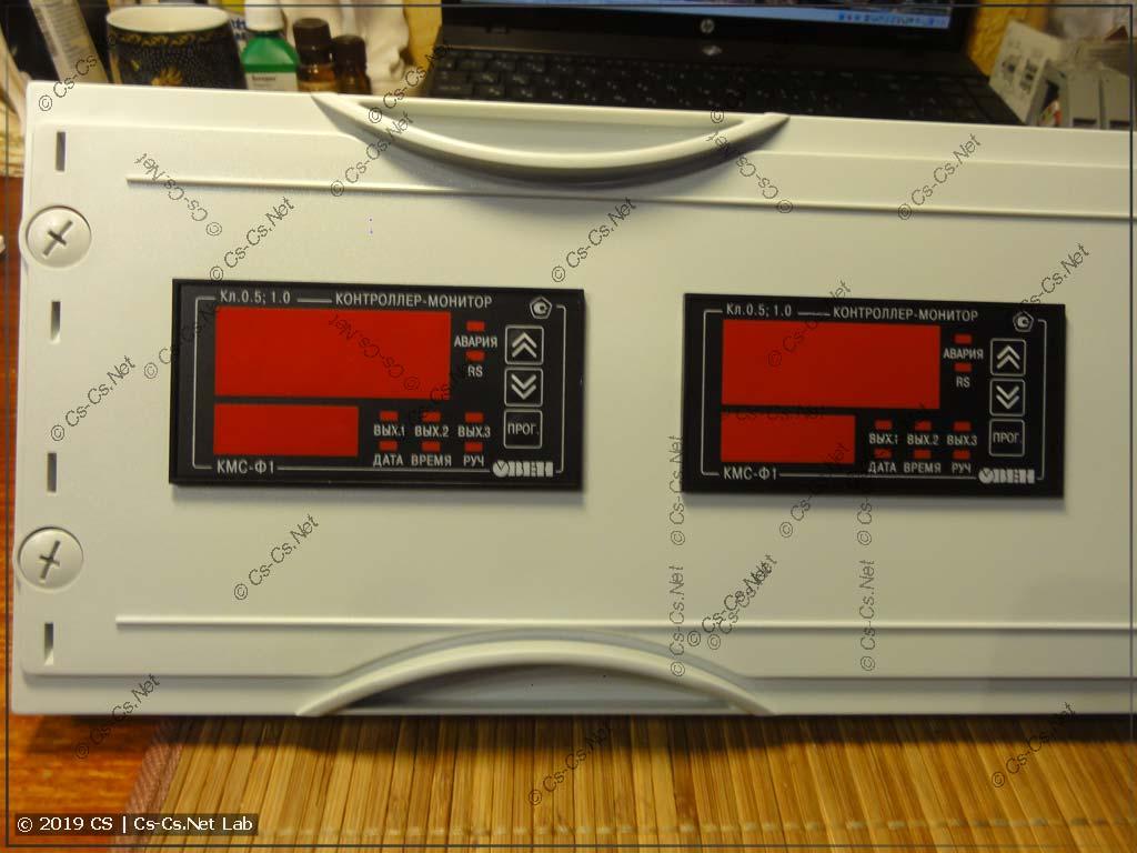 Мониторы сети ОВЕН КМС-Ф1 установлены на пластрон
