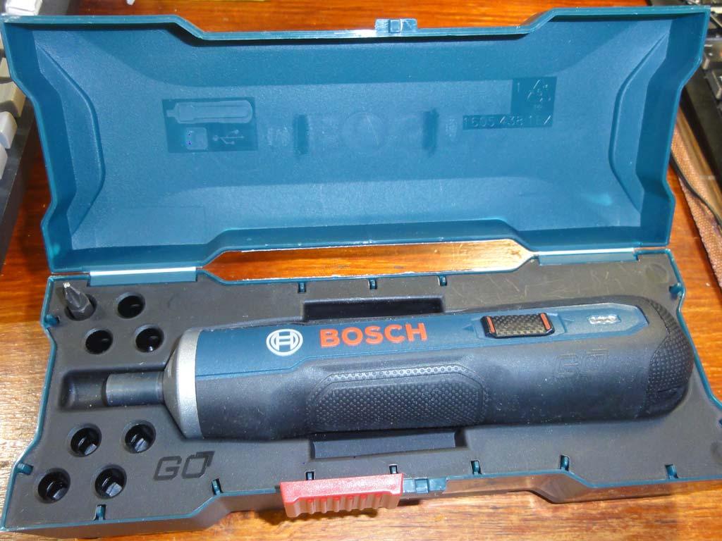 Электрическая отвёртка Bosch GO (минимальный комплект)