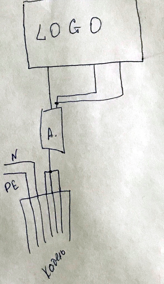 Пример того, как люди неправильно понимают релейные выходы из Logo