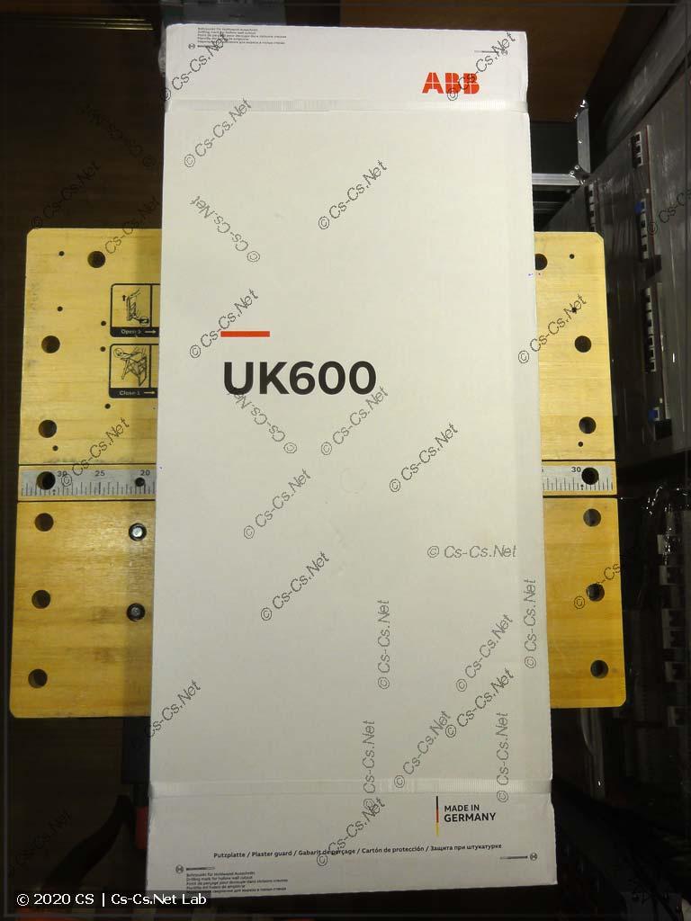 Щит ABB серии UK600 в упаковке