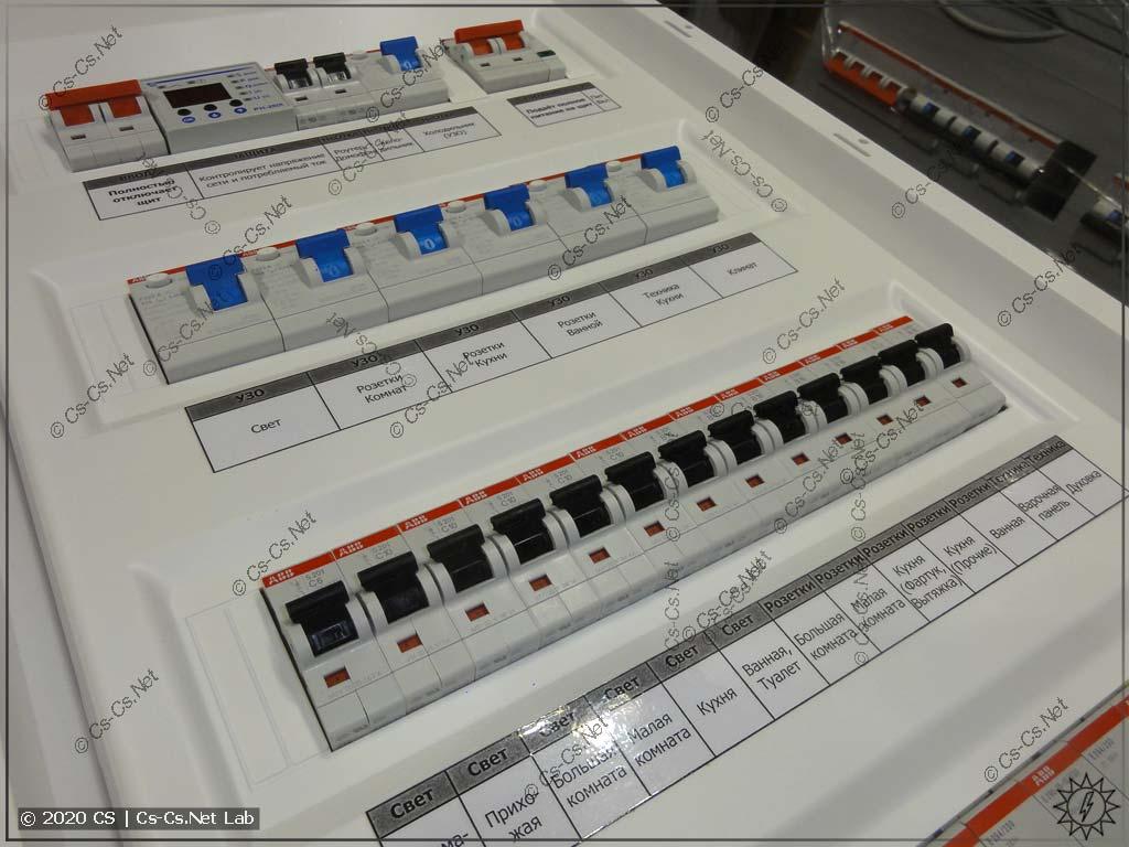 Неудобная маркировка модульки на пластроне UK600 из-за того, что пластрон плохо продуман (наклейки приходится клеить на большом расстоянии от модульки, к которой они относятся)