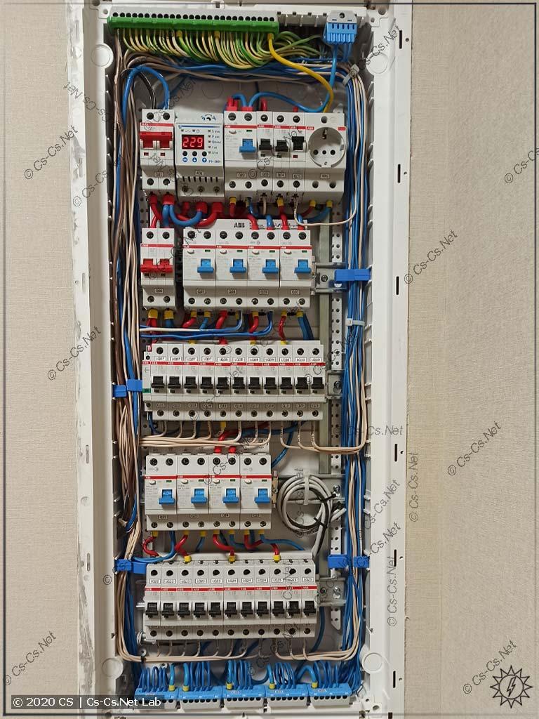 Монтаж щита UK600 от Кирича Funt: внутренний монтаж