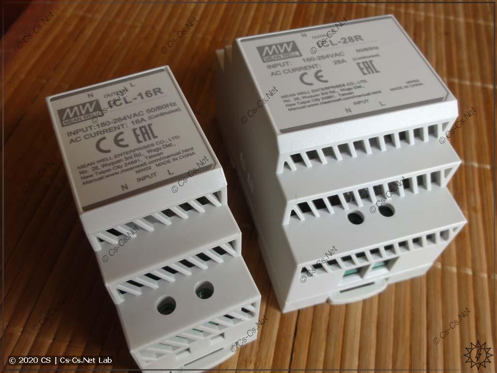 Реле компенсации стартовых токов Mean Well ICL (вариант на DIN-рейку)