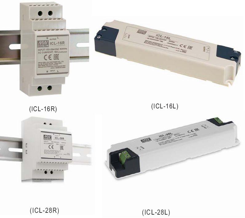 Реле компенсации стартовых токов Mean Well ICL (фотографии продукции из каталога)