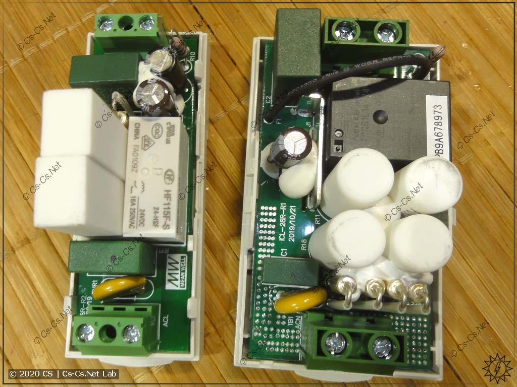 Внутреннее устройство реле компенсации стартовых токов Mean Well ICL: дофига резисторов и термопредохранителей