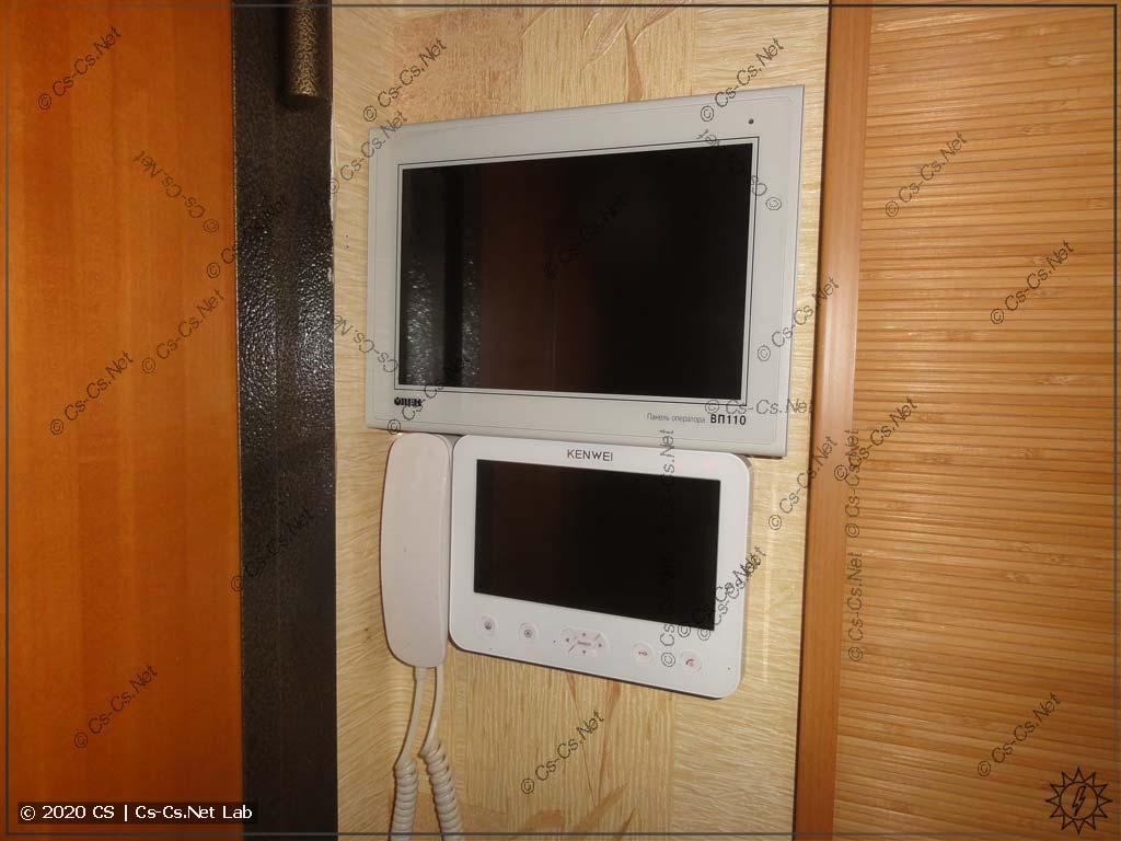Мои планы по использованию панели: поставить рядом с домофоном, чтобы было удобно управлять домом от входной двери