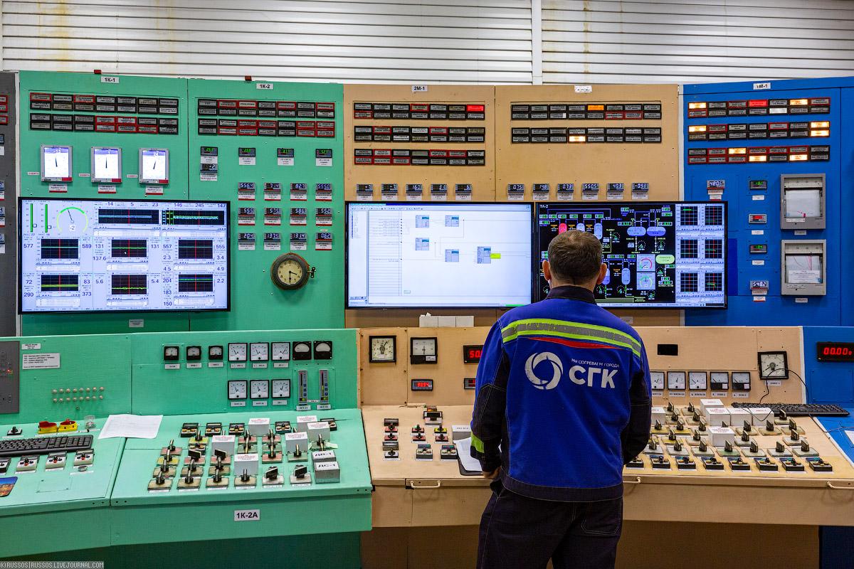 Пример HMI-интерфейса на ТЭЦ (© Russos)