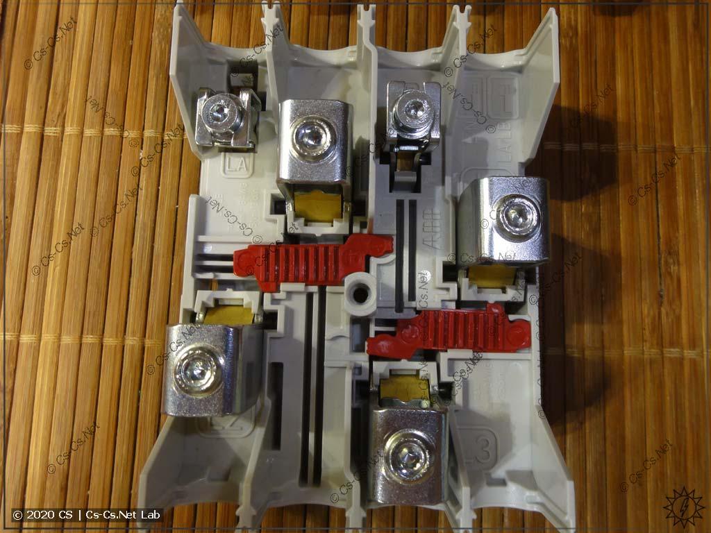 Суровый вводной клеммный блок ZLS924 на большие токи
