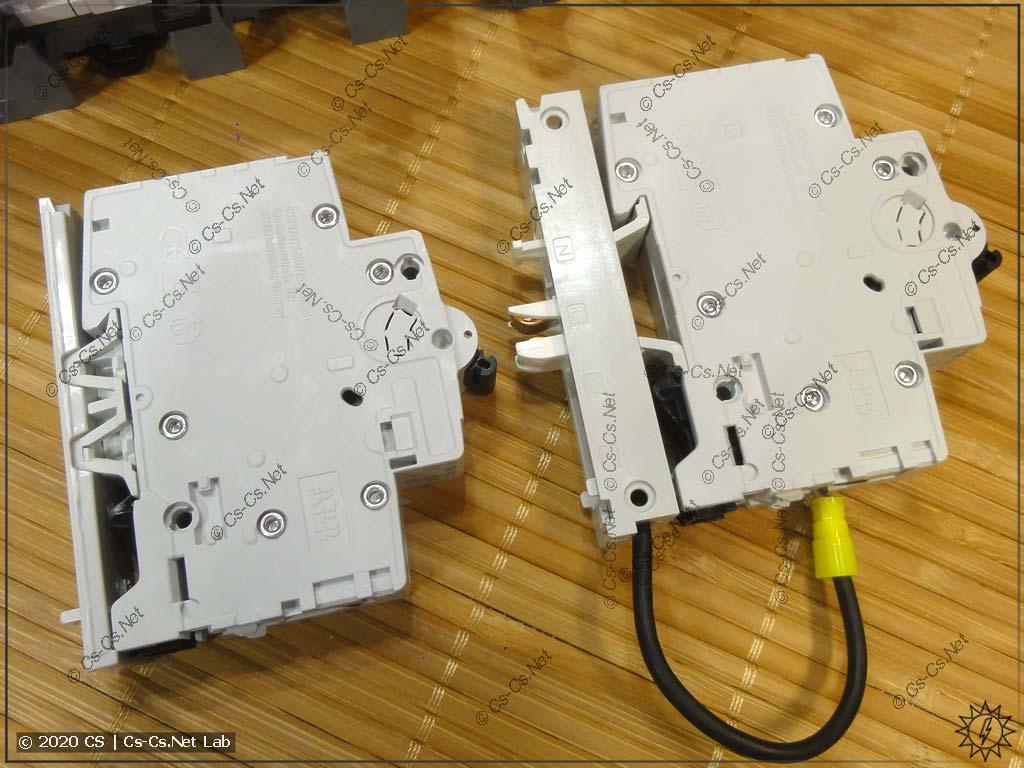 Нестандартная (не предназначенная для шин SMISSLINE) модулька с её адаптерами