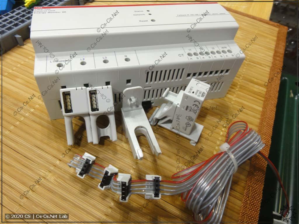 Система измерения токов ABB CMS: измерительный модуль CMS-700 и датчики на шлейфе