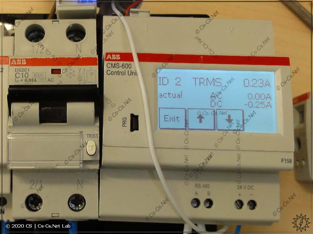 Измерительный модуль CMS-600 (только ModBus RTU, но более дешёвый)