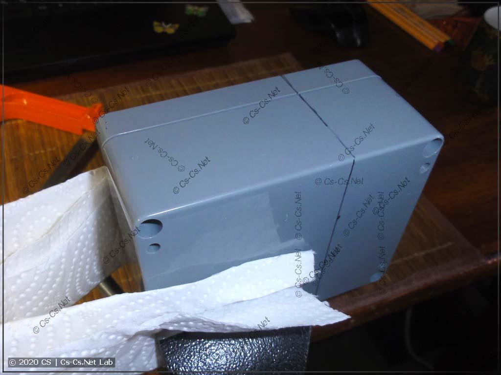 Делаем новую коробочку из пафосного корпуса Ganita =)
