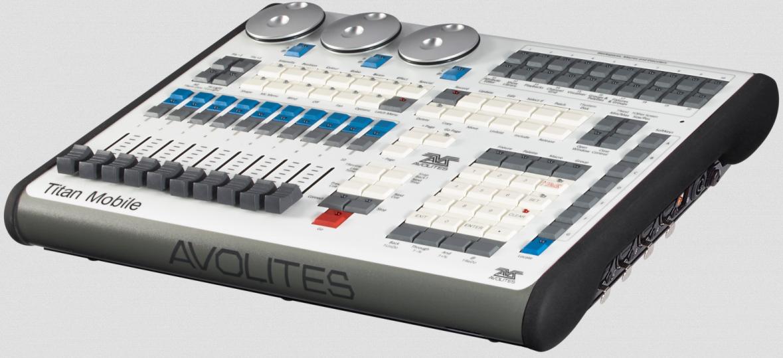 Крыло Avolites Titan Mobile для управления светом с компьютера
