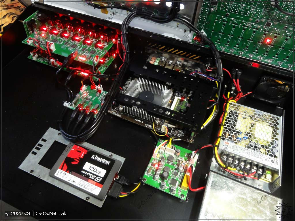 Платы интерфейсов, процессорная и блоки питания