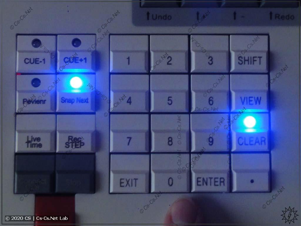 Задание значения атрибутов в Tiger Touch II: На клавиатуре набираем нужное значение...