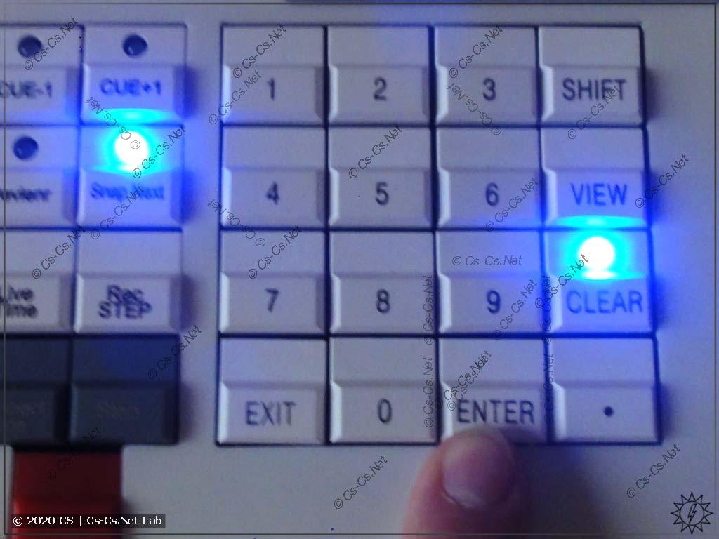 Задание значения атрибутов в Tiger Touch II: После того, как ввели нужное - нажимаем Enter
