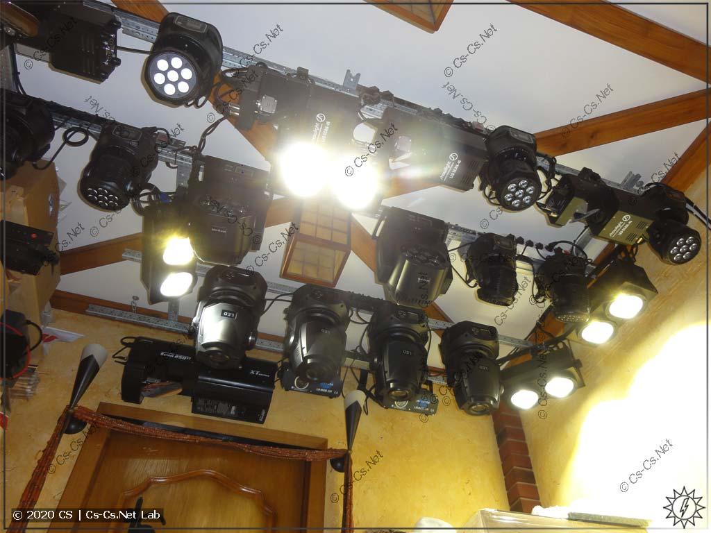 Сценические блиндеры (blinder) для щитосборочного света