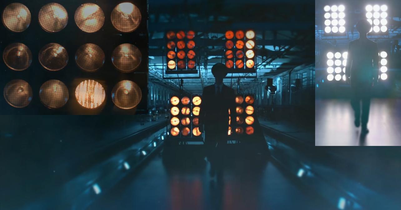 Пример использования блиндеров в ролике 'Капитаны метро'