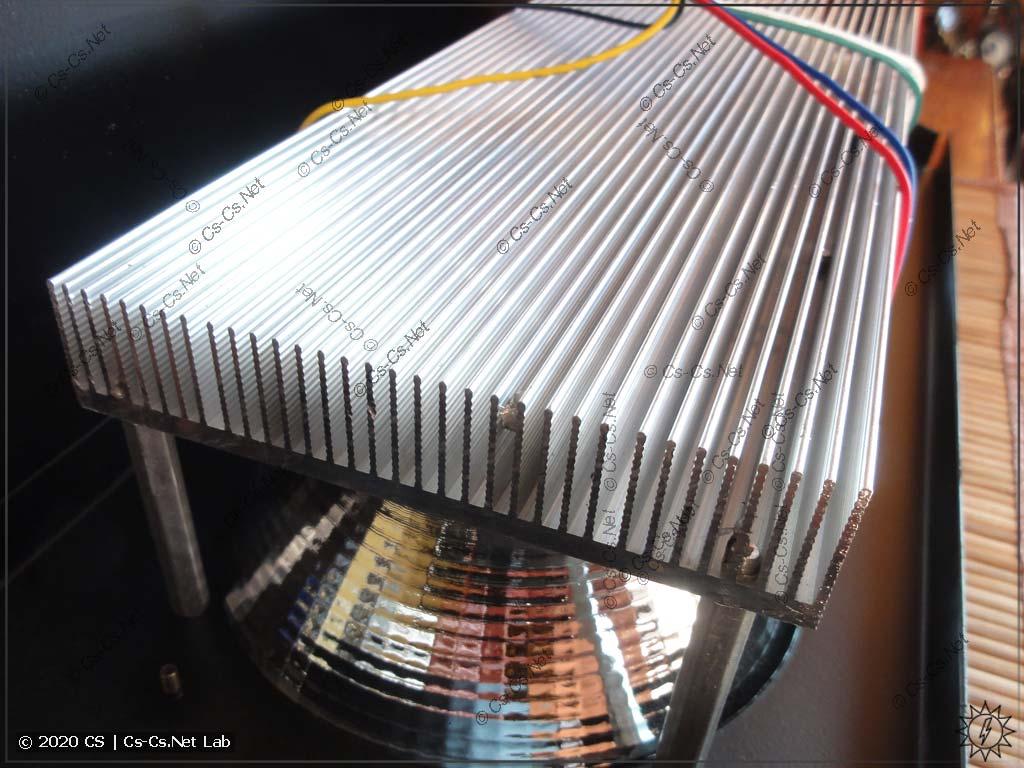 Радиатор для охлаждения COB-светодиодов (не очень-то большой, хм)