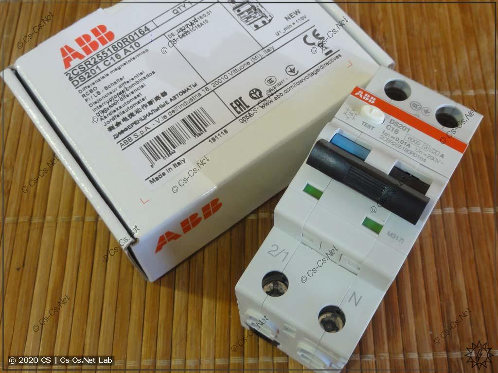 Обновлённая в 2020 году линейка дифавтоматов ABB DS201