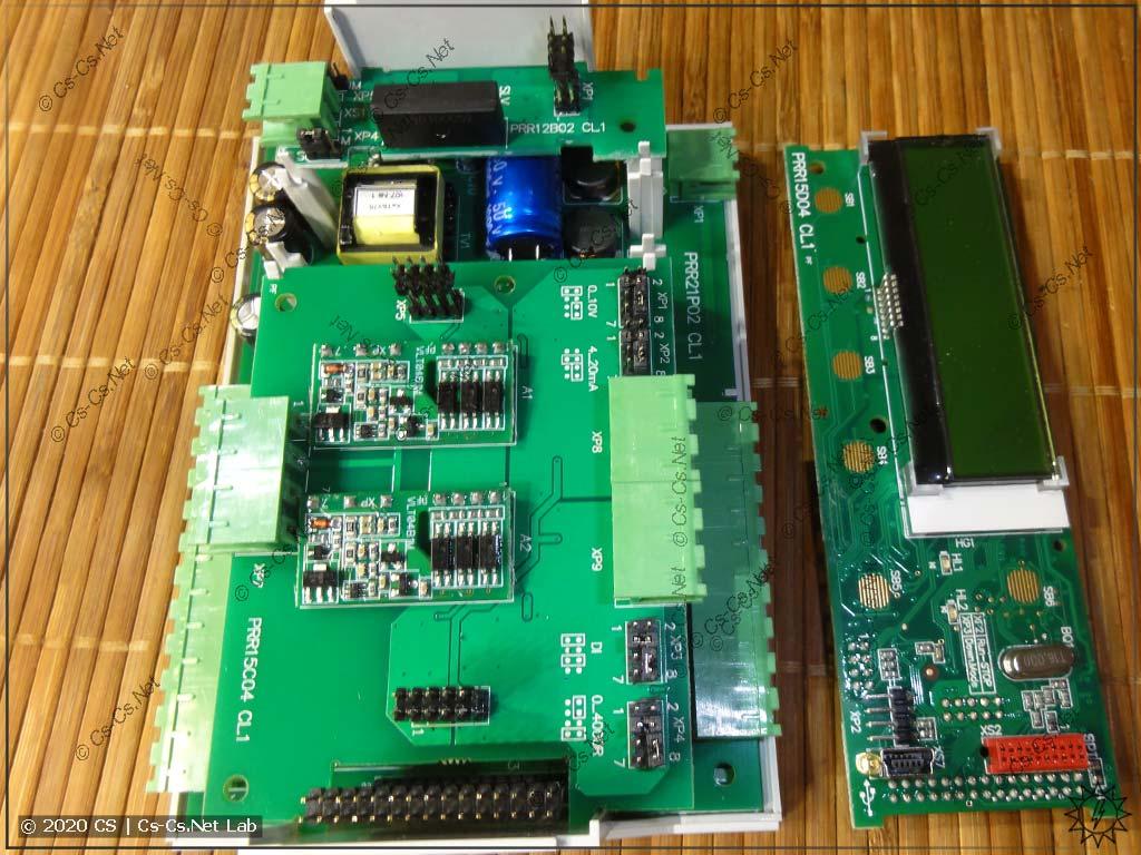 Средний слой плат ОВЕН ПР200: интерфейсы RS-485 и аналоговый ввод-вывод