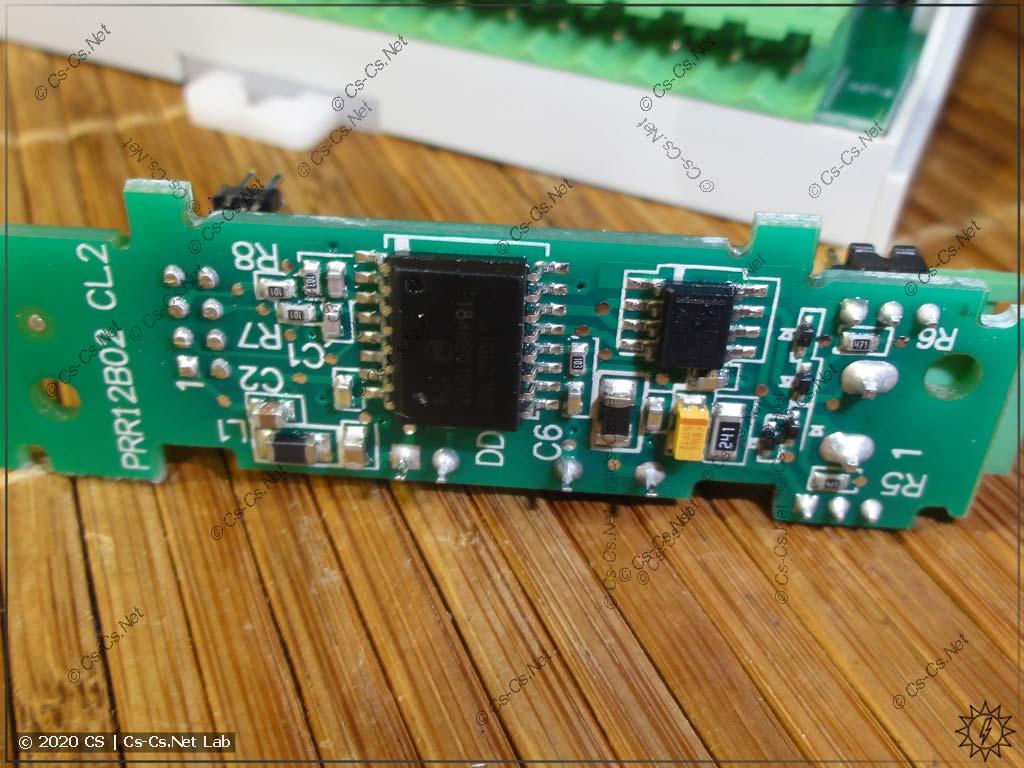 Модуль интерфейса RS-485 для ОВЕН ПР200 с обратной стороны