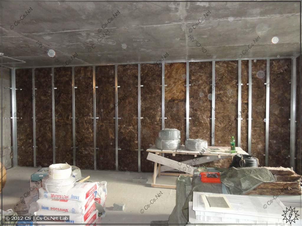 Весь размерчик стены квартиры: от входа до лоджии