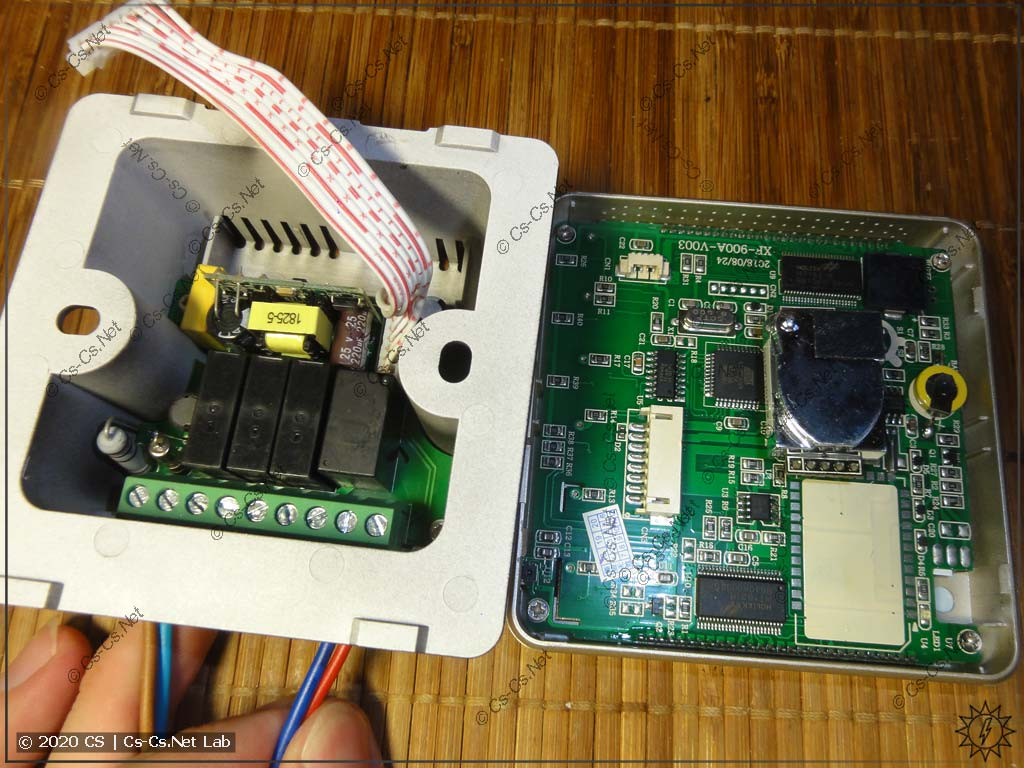 Один из термостатов (и датчиков CO2) для управления вентиляцией с AliExpress без ModBus