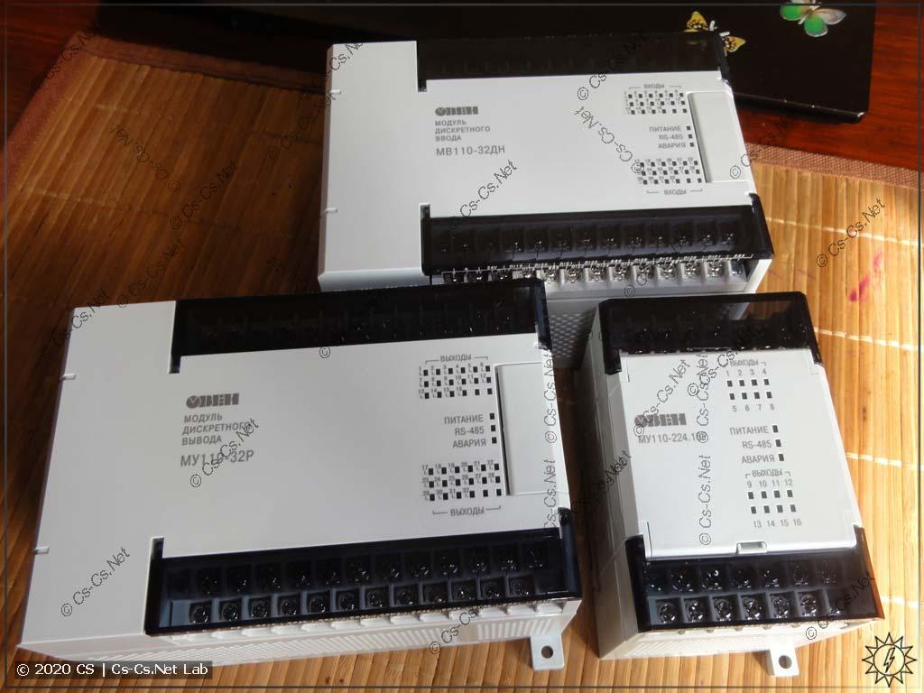 Модули ввода-вывода ОВЕН Мх110 на 16 и 32 канала