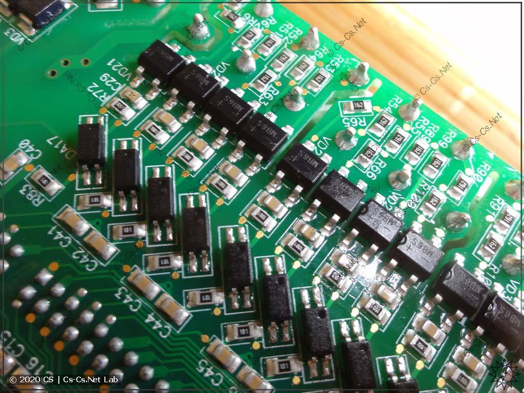 Развязка дискретных входов модуля МВ110-24.32ДН