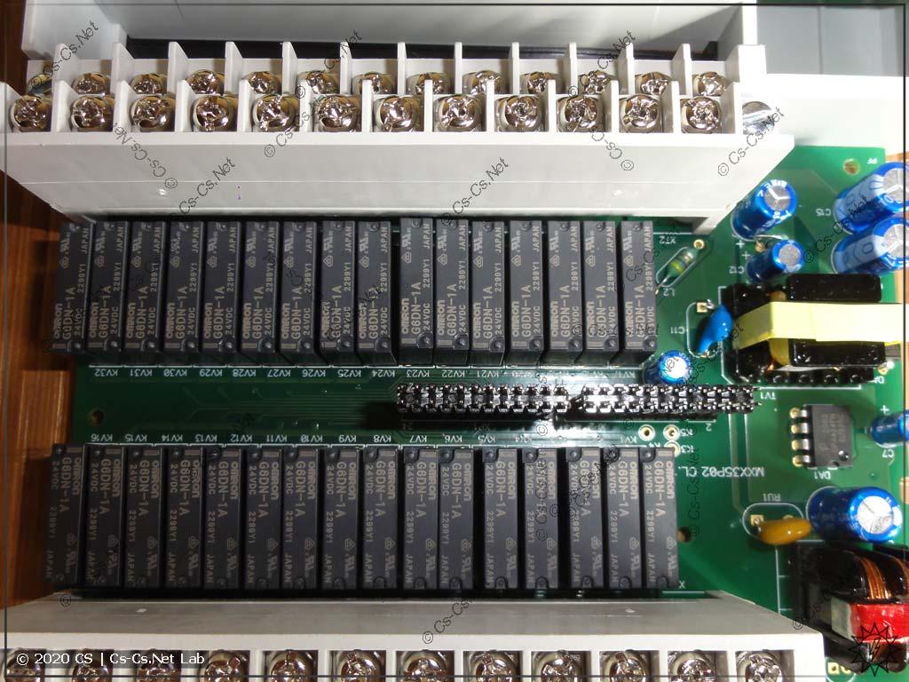 Выходные реле модуля МУ110-24.32Р