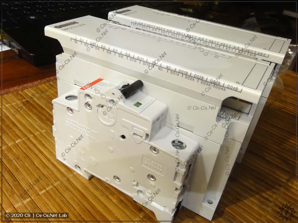 Габаритные размеры модулей Мх210 очень большие, и они встанут не во все привычные нам щиты