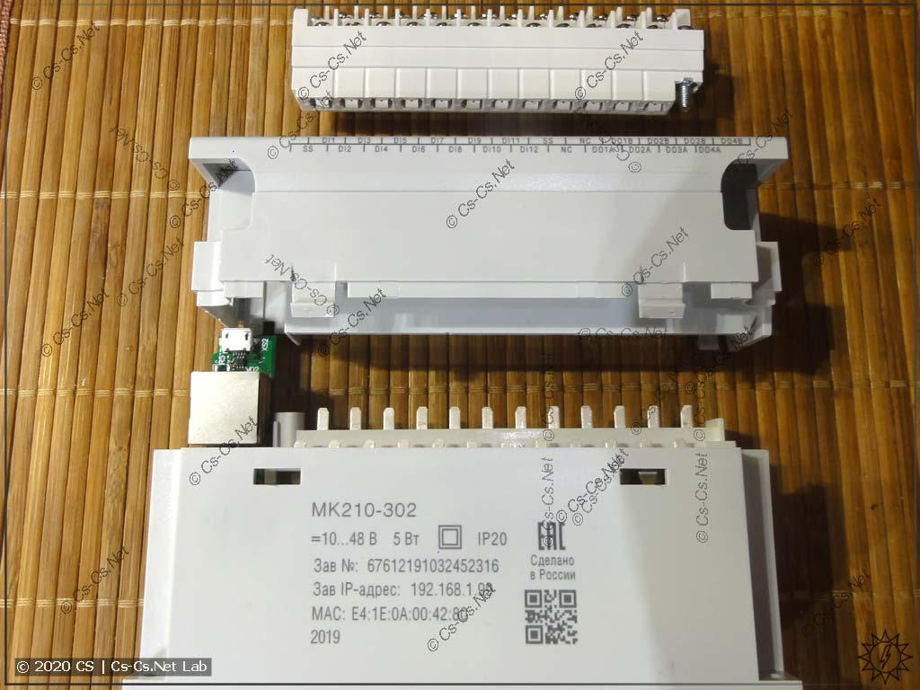 Разбираем модуль ОВЕН Мх210 МК210-302