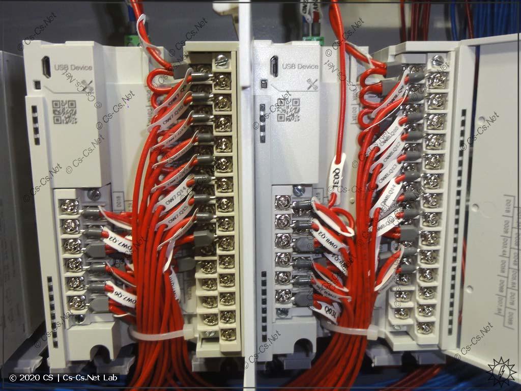 Процесс сборки щита на модулях ОВЕН Мх210: более-менее нормально с модулями МУ210-402/403