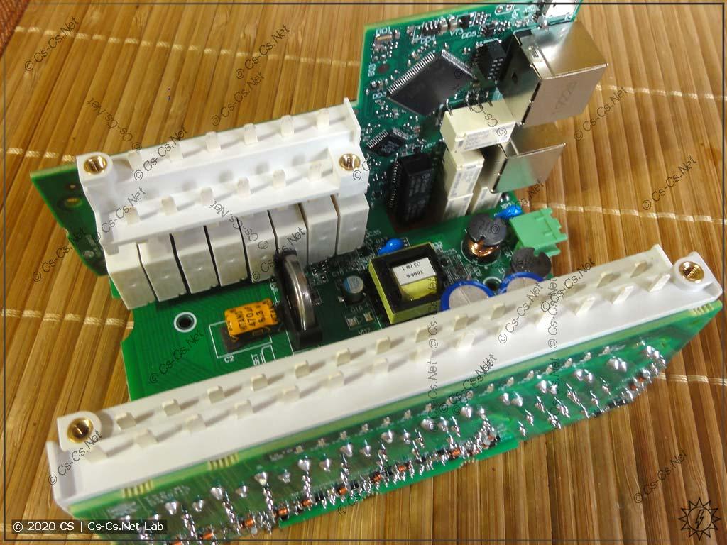 Модуль ОВЕН Мх210 МУ210-403: вынул все платы целиком