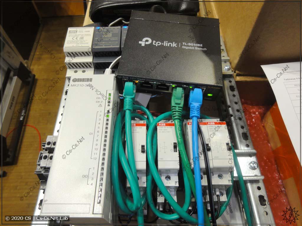 Попытки завесить модуль МК210-302 при помощи помех по витой паре