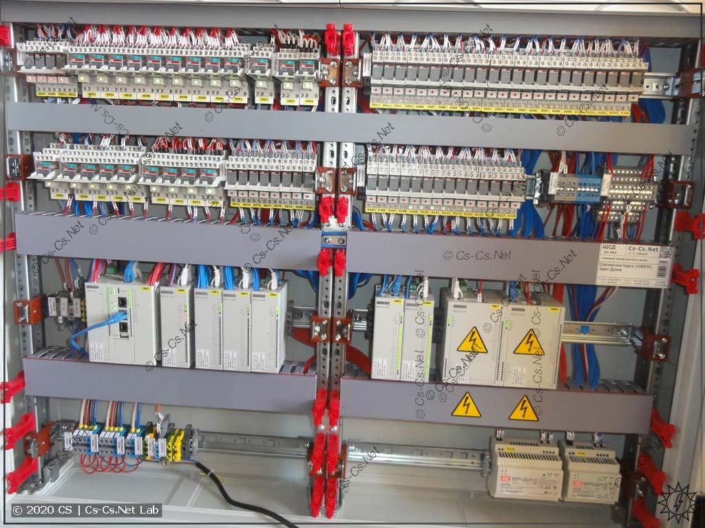 Мой щит в Солнечногорск на ОВЕН ПЛК210 и модулях ОВЕН Мх210