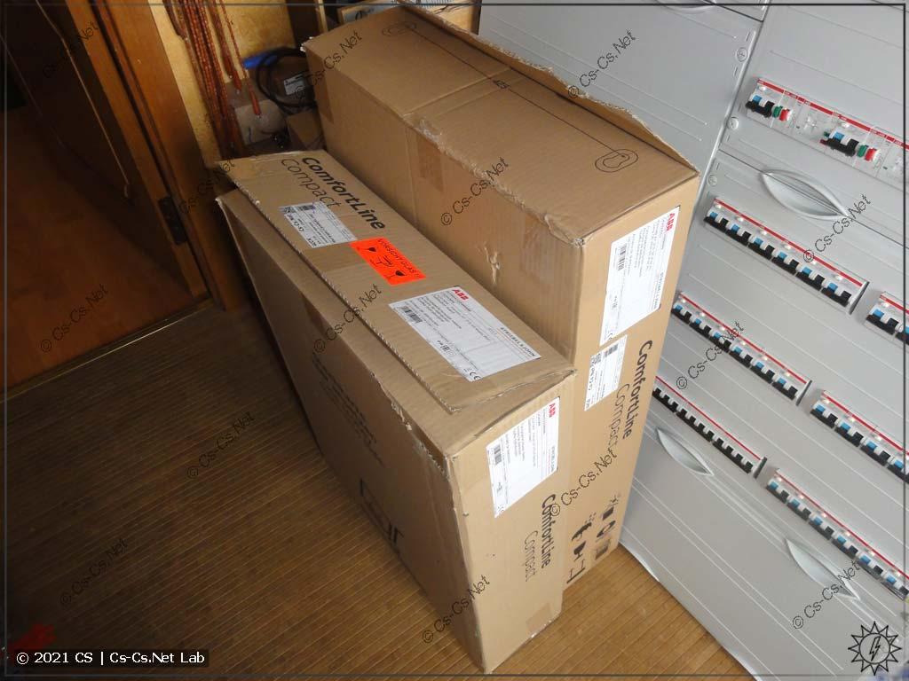 Щиты серии ABB ComfortLine собраны и ждут отгрузки заказчикам =)
