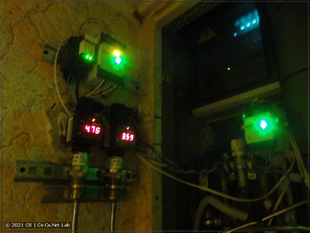 Датчики давления ОВЕН и приборы индикации ИТП-10 в работе