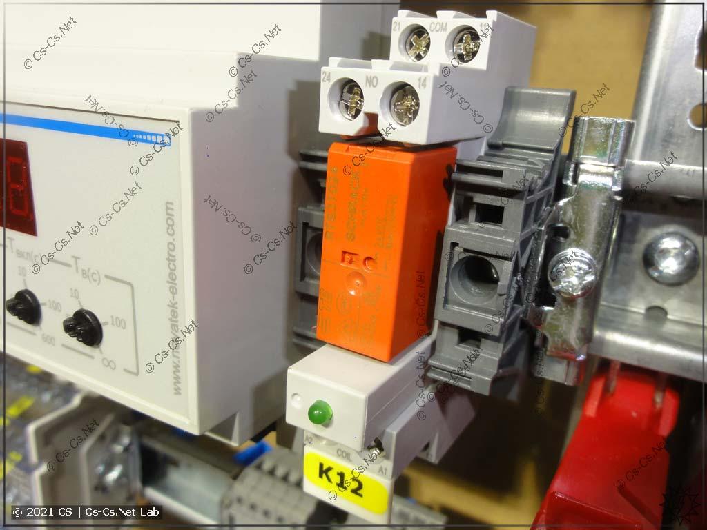 Реле серии RTS3Txxx от TE Connectivity устанавливаются в колодки для реле ABB CR-P (CR-PLSx, CR-PSS)