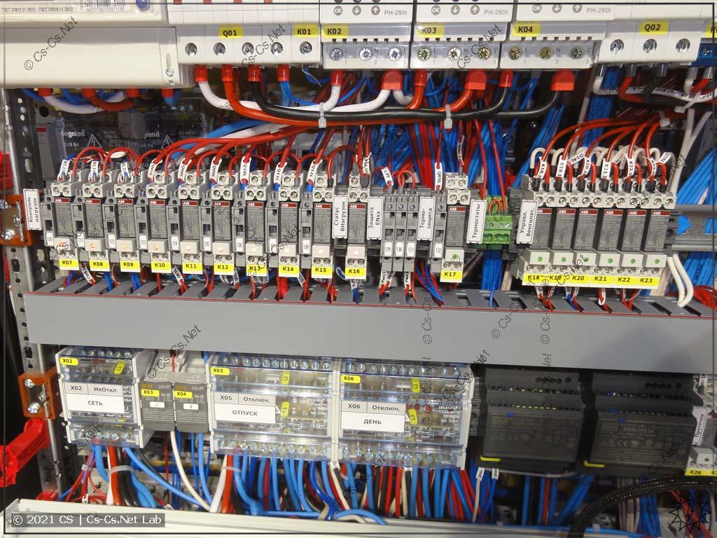 Цепи ILC™ (Important Lines Control) в щите ЖК Легенда для контроля работы важных нагрузок