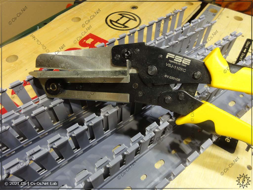 Ножницы для резки кабель-каналов (коробов) с AliExpress