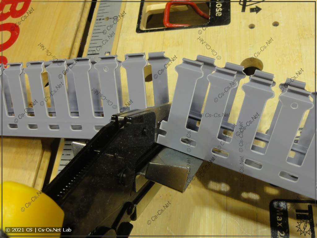 Ножницы для резки кабель-каналов (коробов) с AliExpress: отрезаем перфокороб