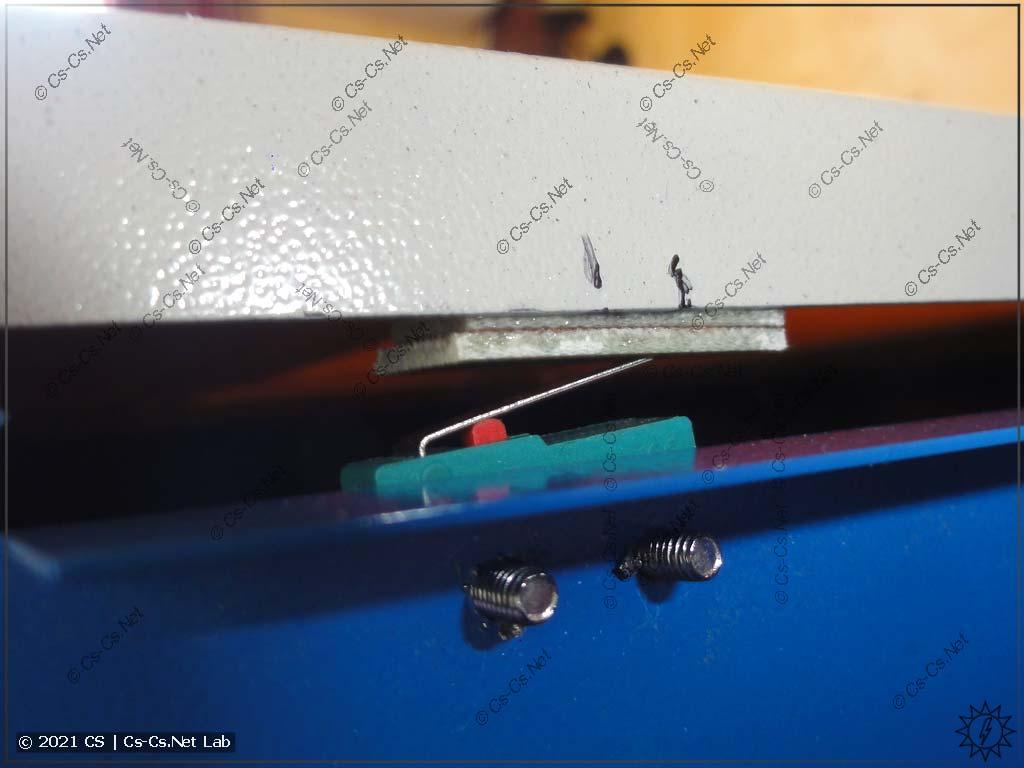 Станок лазерной резки на базе CO2 лазера: доработка концевика двери