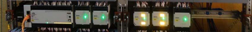 Щит для квартиры в Митино на ПЛК ОВЕН (свет, отопление)